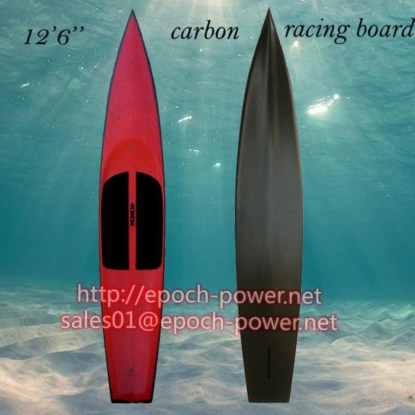 Mais durável e mais leve 12 ' 6 de carbono tábua corrida