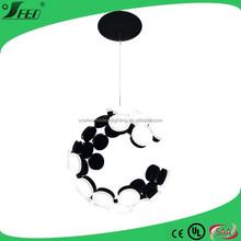 Art modern Pendant lamp LED moon shape chandelier lighting