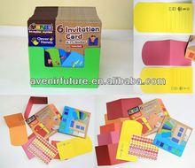 6 tarjeta de invitación y etiqueta 77( multi- propósito) thanksgiving- artes y manualidades para niños en edad preescolar