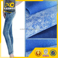 high stretch satin girl and animals sex denim jeans fabric