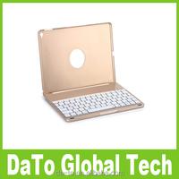 Automatic Aluminium Folio Wireless Bluetooth Keyboard Case Cover For iPad Air 2