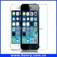 Mobile Phone accessories for iphone 5 2 in 1 back cover 0.33mm tempered glass screen protector