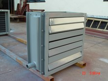 SRZ tube fin heater heat exchanger steel / stainless steel / copper / aluminum