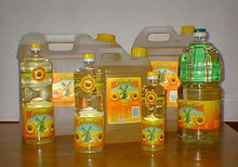 Green plant 100% refined sunflower oil for cooking use