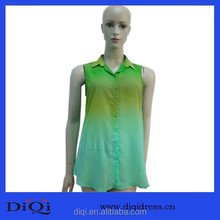 OEM Professional apparel Casual style multi-colored clothing women blouses fancy blouse modern design blouse