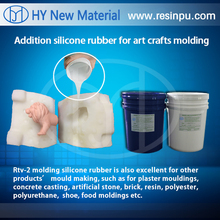 liquid rtv silicone rubber for molding resin crafts