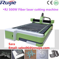 Low Running Cost Cheap Spare Parts 500W Metal Sheet Fiber Laser Cutting Machines