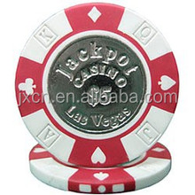unique 13.5G custom metal ultimate poker chips for sale