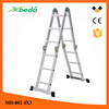 aldi ladder supplier Adjustable low price folding construction ladder (MD-802 4x3)