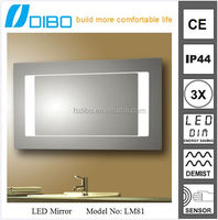 Good Quality Cheap Price Modern Design Wall Hotel Vanity Frameless Mirror Mounting Hardware Wholesale