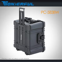 Wonderful Waterproof tool case# PC-5838W IP67