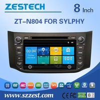 Auto radio with GPS for nissan sylphy auto radio dvd gps bluetooth phonebook usb digital tv