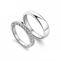Wedding Ring 100% Sterling Silver Jewelry Lovers Ring Silver Ring Top Quality! Christmas Gift Free Shipping
