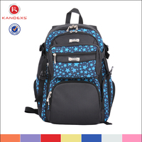 "Fashion Printing Waterproof Cheap Slim 17"" Laptop Backpack"