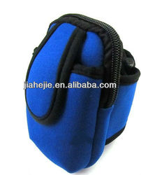 outdoor cycling mobile wrist pouch