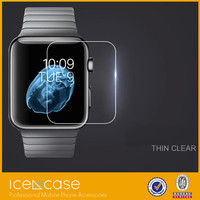 hot selling product clear screen protector for apple tempered glass protector for smart watch and anti protector for apple watch