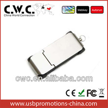 Custom special pendrive promotion gift free logo metal mini pormo usb pen drivers with high speed