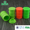 Hot selling in USA,Food grade cheap silicone jars wax container,container silicone jars or wax oil barrel