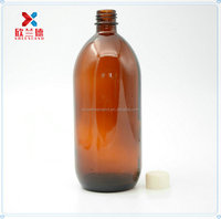 new 1000ml Amber Glass Chemical Large Capacity Bottle with screw cap