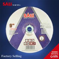 SALI 9'' 230x6x22.2mm professional iron eagle grinding wheel with MPA EN 12413