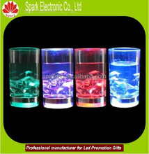 good quality gifts led cup led blinking cup led glass OEM design