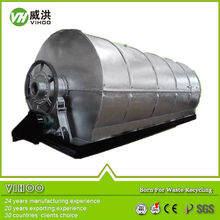 Waste plastic rubber pyrolysis offer, used plastic and rubber pyrolysis equipment