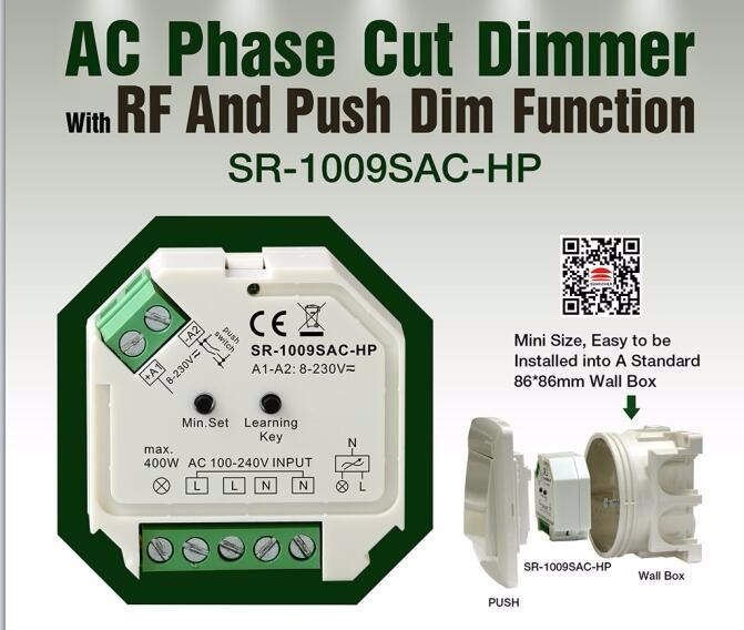 Sunricher Ac Push Dim Trailing Edge Triac Dimmer