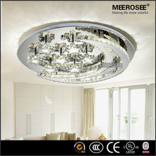 Romantic LED Ceiling Lamps Moon and Star Shape Crystal Ceiling Light for Modern House or Coffe Shop MD2446