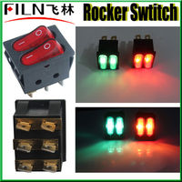 125v kcd3 spdt rocker switch with LED