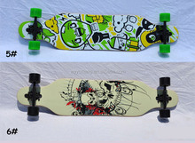 "New cruiser 42"" x 9.5"" Professional Maple Skateboarding Longboard Wooden Skate board Complete"