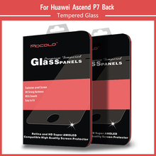 9H Hardness Tempered Glass Screen Protective Film For Huawei Ascend P7 Front +Back