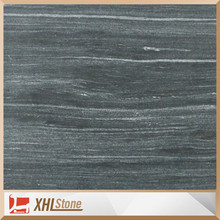 Chinese Black Grainy Tile Marble Flooring With White Veins Prices
