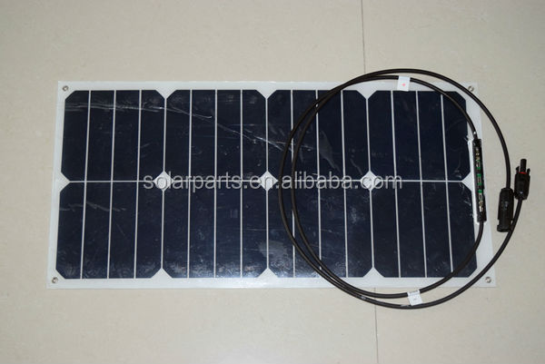 High quality Sunpower semi flexible solar panels for Yachts, Marine ...
