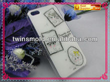 Lovely and prettily girls' phone case suit for Iphone 5