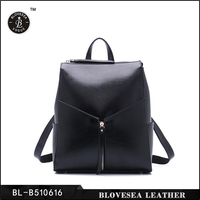 Patent Leather Candy Color Simple Design Mini Cute Backpack For High School Girls