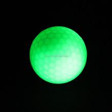 LED golf ball manufacturer wholesale multi color flashing led golf ball