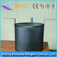 Sewage treatment titanium anode Iridium tantalum coated titanium electrode