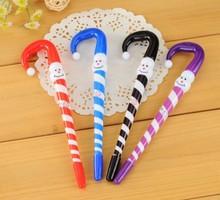candy cane snowman pen