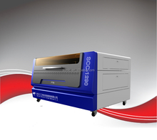 100w CO2 Laser Invitation Card Cutting Machine/Laser Cutter with Anodized Steel Plate