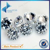 5mm synythet white cubic zirconia gems