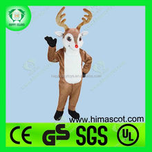 HI CE top quality of christmas costume,lovely tree adult costumes,reindeer mascot adult costume
