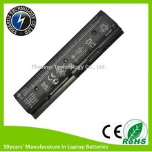 Rechargeable lithium battery 18650 laptop battery for HP HSTNN-YB3N with 6 cells 10.8V 62Wh