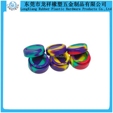 Custom small silicone cupping jar for sticky product