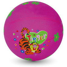 2014new design Cartoon Mini Children Rubber Basketball customized Basketball