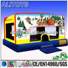 Indoor Bouncy Bounce come with many choice of silk digital art(themes)