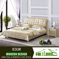 comfortable double bed bed design furniture pakistan 830#
