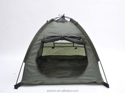 """Pawhut 35""""x28"""" Outdoor Camp Pop Up Pet Dog House Camping Tent Shelter"""