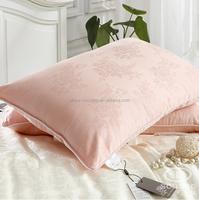 Customer Design High Quality White Silk Throw Pillow