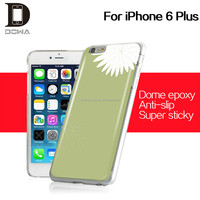 anti-scratch glossy epoxy hard plastic back case for iphone6 plus