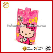 Lovely Hello Kitty pouch case for mobile phone for iPhone for Samsung